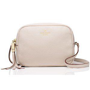 Kate Spade Blush Pink Leather Crossbody Bag